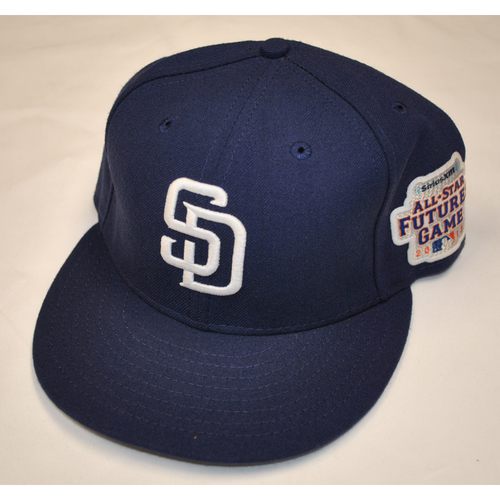 Photo of Game-Used Cap - 2013 All-Star Futures Game - Yeison Asencio (San Diego Padres) - Size 7 3/8