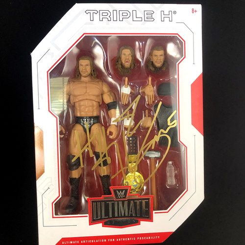 Photo of Triple H SIGNED WWE Ultimate Edition 3 Action Figure