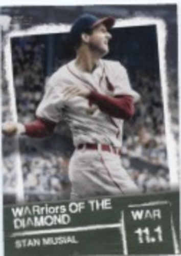 Photo of 2020 Topps Warriors of the Diamond #WOD11 Stan Musial