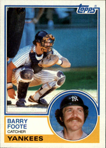 Photo of 1983 Topps #697 Barry Foote