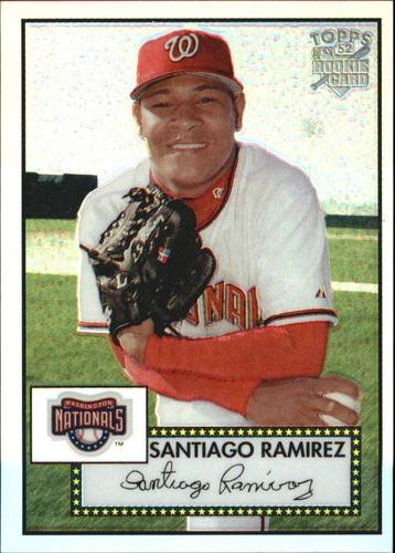 Photo of 2006 Topps 52 Chrome Refractors #83 Santiago Ramirez