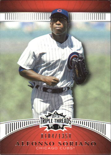 Photo of 2010 Topps Triple Threads #58 Alfonso Soriano