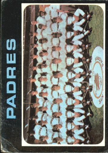 Photo of 1971 Topps #482 San Diego Padres TC