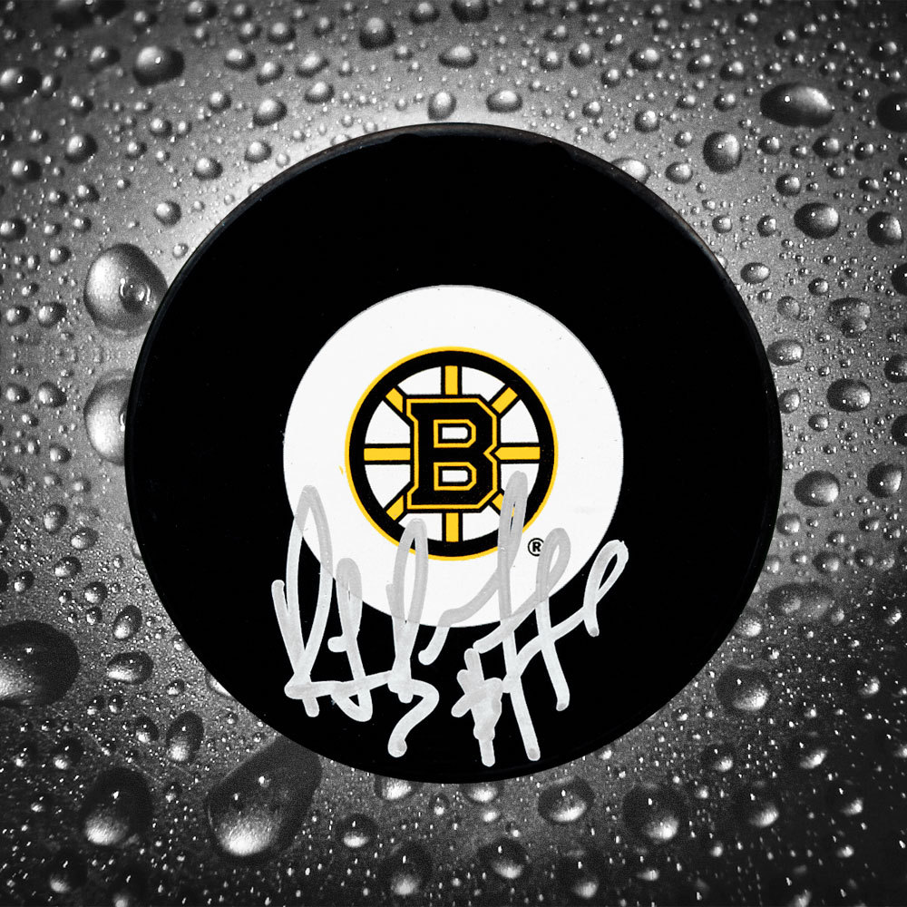 Ray Bourque Boston Bruins Autographed Puck