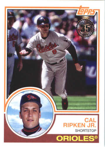 Photo of 2018 Topps '83 Topps #8339 Cal Ripken Jr.
