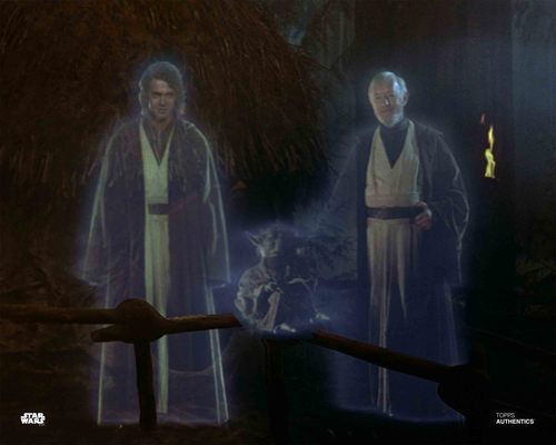 Anakin Skywalker, Yoda and Obi-Wan Kenobi