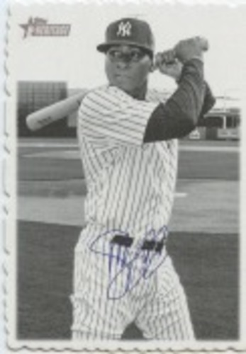 Photo of 2018 Topps Heritage High Number '69 Topps Deckle Edge #23 Didi Gregorius
