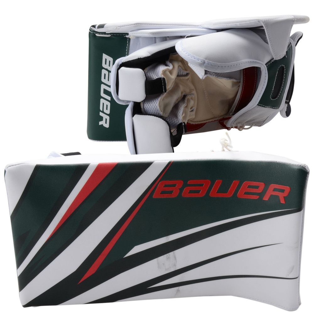 Devan Dubnyk Minnesota Wild Game-Used 2019 All-Star Game Goalie Blocker