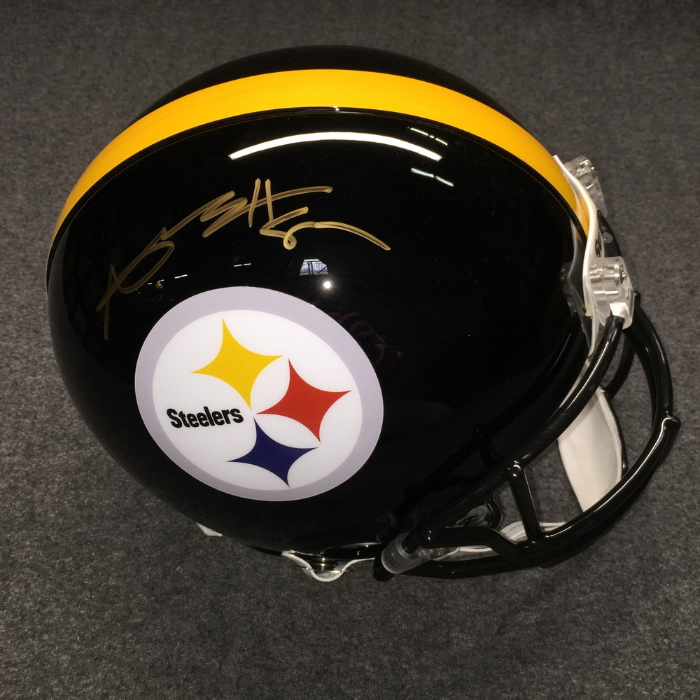 NFL - Steelers Antonio Brown signed Steelers proline helmet