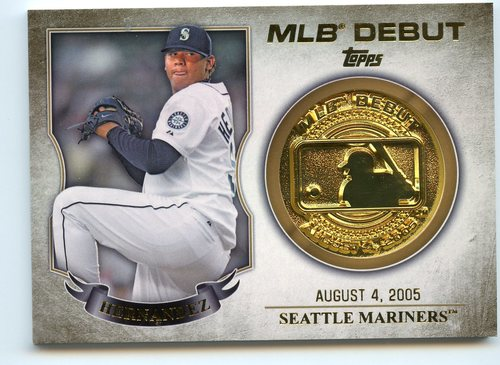 Photo of 2016 Topps MLB Debut Medallion #MLBDM218 Felix Hernandez