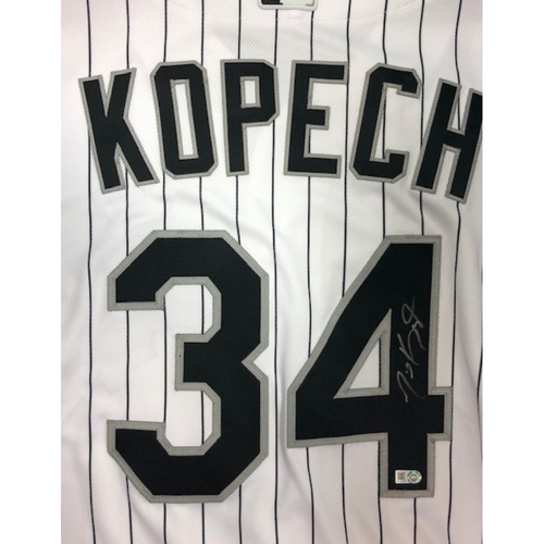 Photo of Michael Kopech Autographed Jersey Size - 46