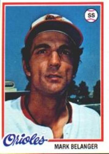 Photo of 1978 Topps #315 Mark Belanger