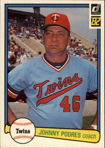 Photo of 1982 Donruss #566 Johnny Podres CO
