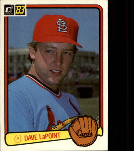 Photo of 1983 Donruss #544 Dave LaPoint