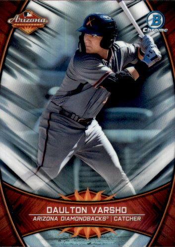 Photo of 2019 Bowman Chrome '18 AFL Fall Stars #AFLDV Daulton Varsho