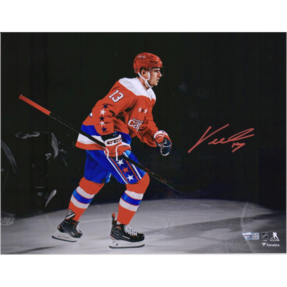 Jakub Vrana Washington Capitals Autographed 11