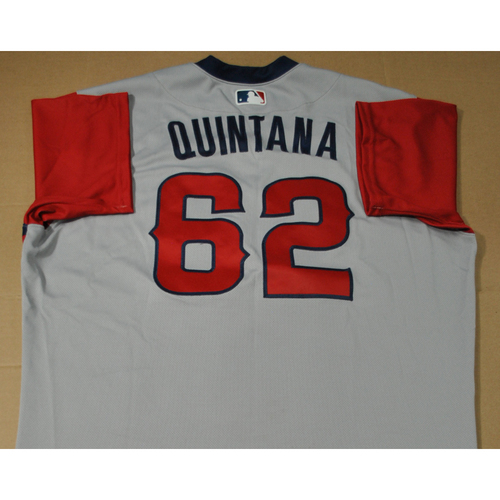 Photo of Game-used Jersey - 2021 Little League Classic - Los Angeles Angels vs. Cleveland Indians - 8/22/2021 - West, Jose Quintana #62