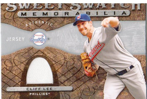 Photo of 2009 Sweet Spot Swatches #LE Cliff Lee