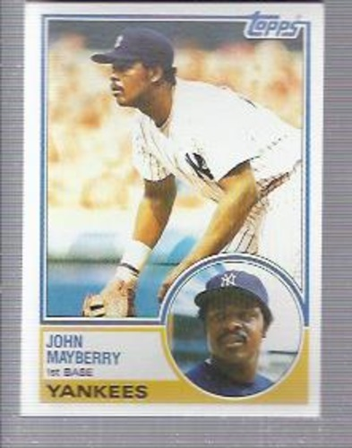 Photo of 1983 Topps #45 John Mayberry