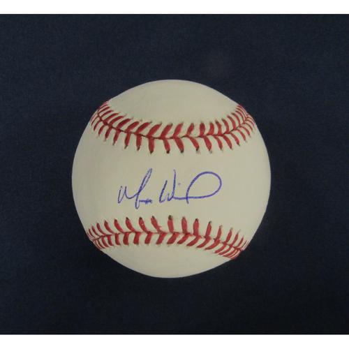 Braves Charity Auction - Matt Wisler Autographed Baseball