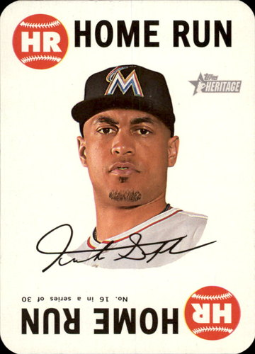 Photo of 2017 Topps Heritage Topps Game #16 Giancarlo Stanton