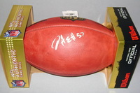 NFL - CHIEFS D.J. ALEXANDER SIGNED AUTHENTIC FOOTBALL