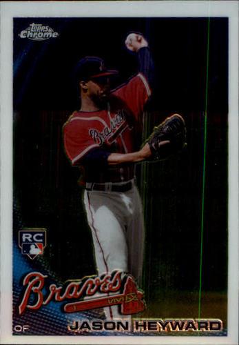 Photo of 2010 Topps Chrome #174 Jason Heyward Rookie Card