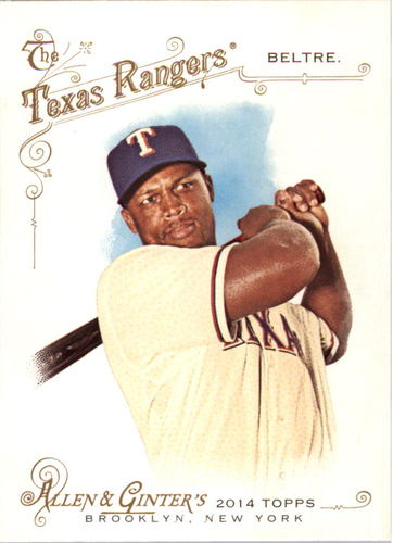 Photo of 2014 Topps Allen and Ginter #257 Adrian Beltre