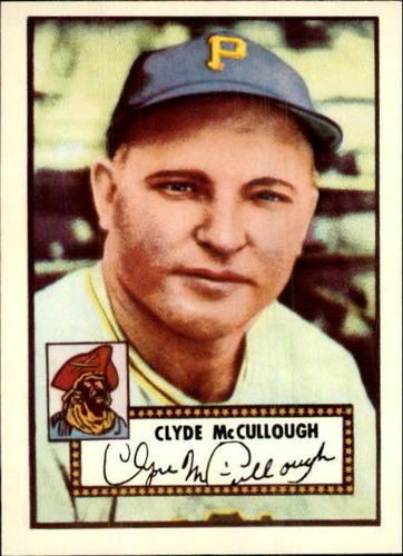 Photo of 1983 Topps 1952 Reprint #218 Clyde McCullough