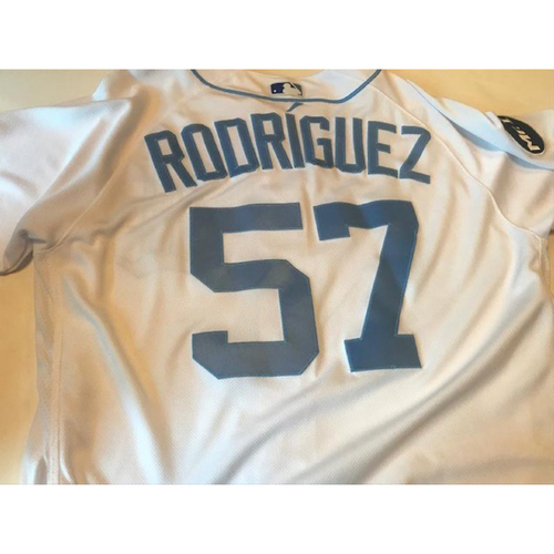 Game-Used Father's Day Jersey: Francisco Rodriguez