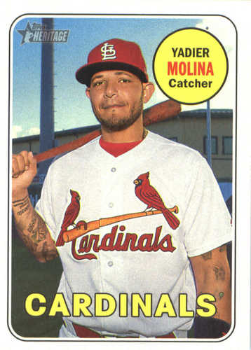 Photo of 2018 Topps Heritage #232 Yadier Molina