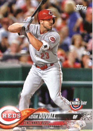 Photo of 2018 Topps Opening Day #156 Adam Duvall