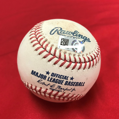 Photo of Game-Used Baseball: Juan Soto Single