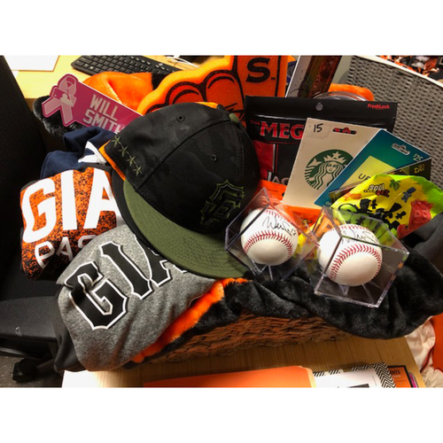 """Photo of Giants Wives Auction: Will Smith """"Favorite Things"""" Basket"""