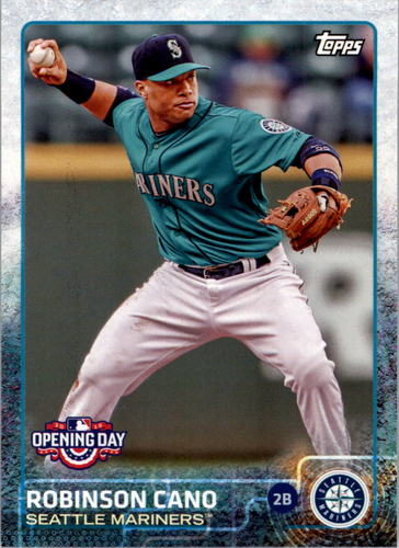 Photo of 2015 Topps Opening Day #144A Robinson Cano