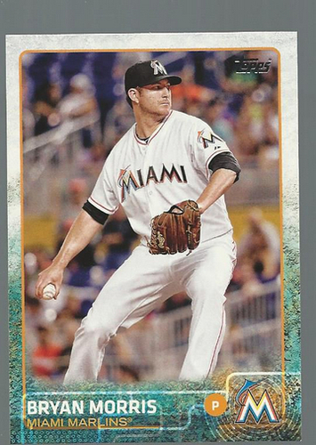 Photo of 2015 Topps #229 Bryan Morris