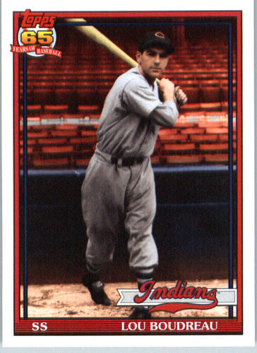 Photo of 2016 Topps Archives #235 Lou Boudreau