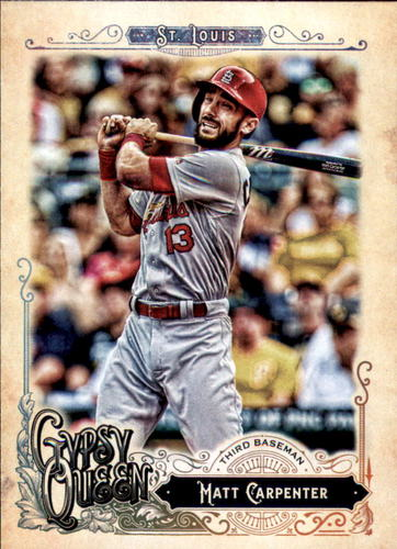 Photo of 2017 Topps Gypsy Queen #224 Matt Carpenter