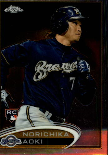 Photo of 2012 Topps Chrome #184 Norichika Aoki RC