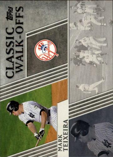 Photo of 2012 Topps Classic Walk-Offs #CW6 Mark Teixeira