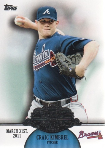 Photo of 2013 Topps Making Their Mark #MM48 Craig Kimbrel