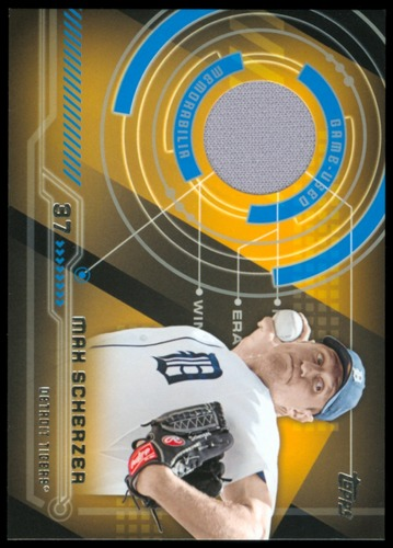 Photo of 2014 Topps Trajectory Relics #TRMS Max Scherzer