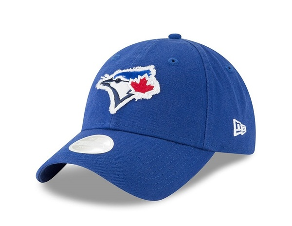 Toronto Blue Jays Women's Patched Pick Adjustable Cap by New Era