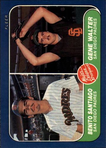 Photo of 1986 Fleer #644 Benito Santiago RC