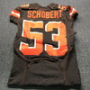 STS - Browns Joe Schobert Game Used Jersey Size 42 (11/11/2018)