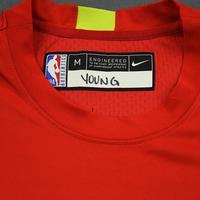 Trae Young - 2020 NBA Rising Stars - Team USA - Warm-up and Game-Worn Shooting Shirt
