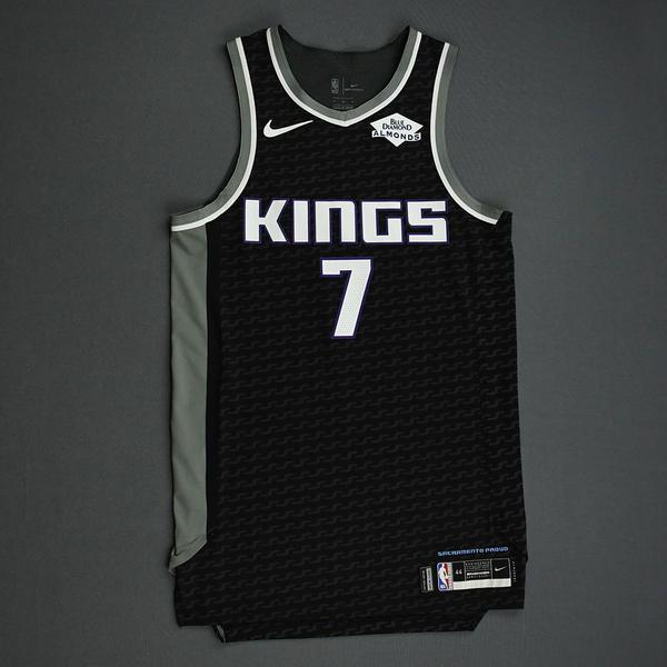 Image of Kyle Guy - Sacramento Kings - Game-Worn Statement Edition Jersey - NBA India Games - 2019-20 NBA Season