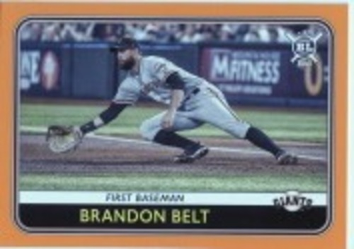 Photo of 2020 Topps Big League Orange #226 Brandon Belt