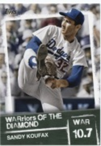 Photo of 2020 Topps Warriors of the Diamond #WOD24 Sandy Koufax