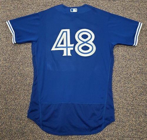 Photo of Authenticated Team Issued 2020 Spring Training Jersey: #48 Brian Moran. Size 46